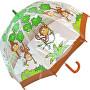 Dětský průhledný holový deštník Buggz Kids Stuff Monkey BUMON