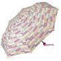 Női összecsukható esernyő táskávalSupermini white