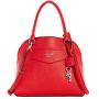 Damenhandtasche Factory Montero Logo Dome Satchel Red