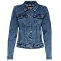 Dámská džínová bunda ONLTIA 15170682 Medium Blue Denim