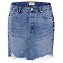 Dámska sukňa ONLSKY REG DNM SKIRT BB PIM992 NOOS Light Blue Denim