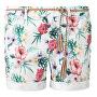 Dámske kraťasy 14.905.74.3659.02C7 Creme Floral Print