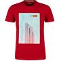 Herren T-Shirt 13.003.32.4738.3185 Marker red