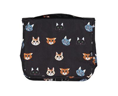 Závěsná kosmetická taška Kočka