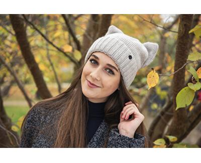 Dámska čiapka cz18373.2 Light grey