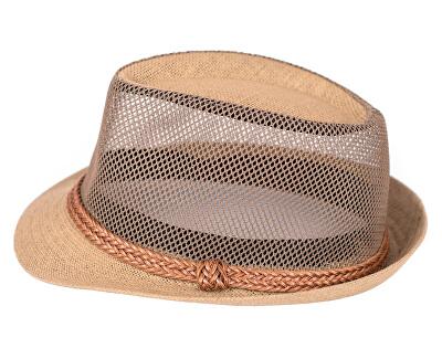 Letní klobouk cz18198 Light Brown