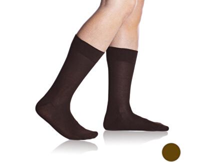 Pánské ponožky Bambus Comfort Socks Brown BE497520-650