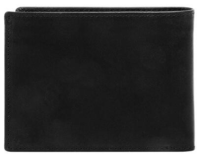 Pantof din piele pentru bărbați Romano 49399401 Black