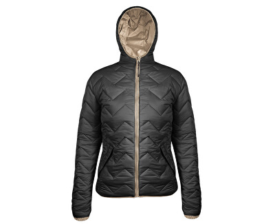 Jachetă de iarnă două fețe pentru femei Double Way Jacket Woman BRFW2094-BLK
