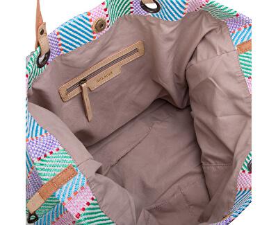 Dámska plážová taška Sunny shopper 26270 zelená