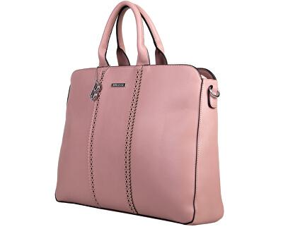 Elegantní kabelka Laurie laptop 30695 Pastel pink