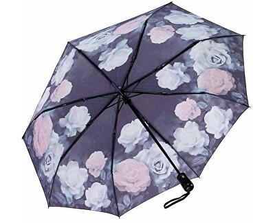 Dámský skládací plně automatický deštník Galleria Vintage Rose GFFVR