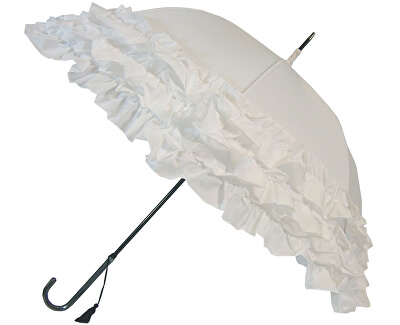 Női botesernyő White Triple Frill BCS3FWH