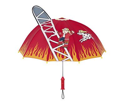 Detský palicový dáždnik Kidorable Fire Chief U0100FIR