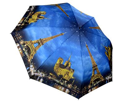 Összecsukható teljesen automatikus esernyő Galleria Paris City of Lights GCFPL