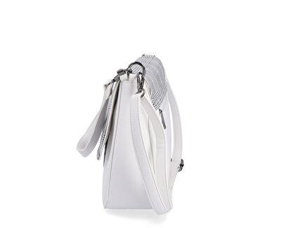 Dámská kabelka 3866 print-bílá