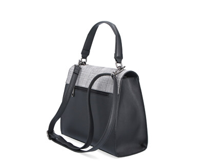 Dámská kabelka 3869 print-černá