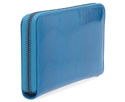 Dámska kožená peňaženka 2102F Modrá