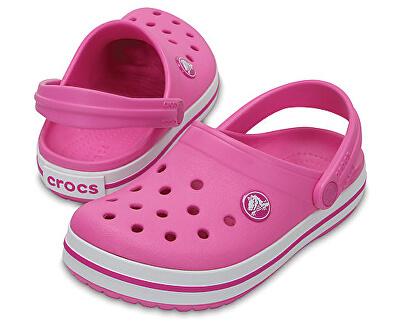 Crocs Papuci Crocs pentru copii Crocband Clog Party Pink 204537-6U9