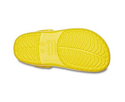 Damen Flip Flops Crocband Lemon / White 11016-7B0