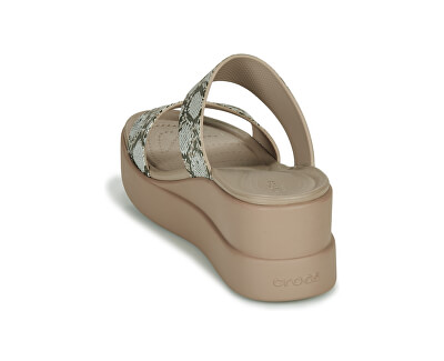 Damen Sandalen Crocs Brooklyn Mid Wedge W Multi / Stuck 206219-93T