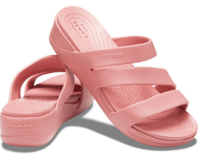 Damen Flip Flops Crocs Monterey Wedge W Blossom 206304-682