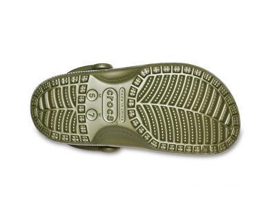 Herren Hausschuhe Classic Printed Camo Clog Army grün 206454-309