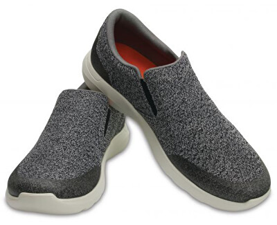 Crocs Pantofi sport bărbați Crocs Kinsale Static Slip-on Charcoal/Pearl White 203977-01R