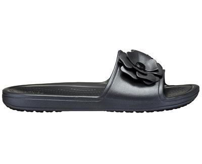 Pantofle Crocs Sloane VividBlooms Sld Black/Black 205752-060