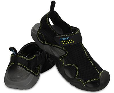 Crocs Sandale Swiftwater Sandal Black/Charcoal 15041-070