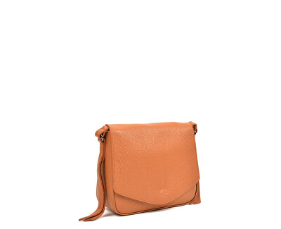 Kožená kabelka SS19CF1398 Cognac