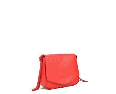 Kožená kabelka SS19CF1398 Rosso
