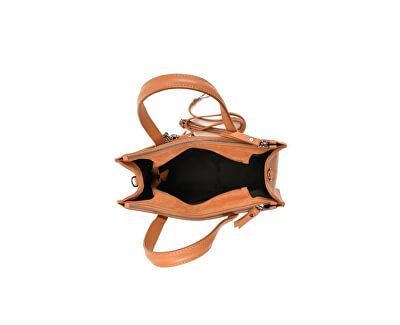 Kožená kabelka SS19CF1466 Cognac