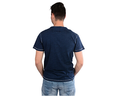 Pánské tmavě modré tričko s potiskem Rodrigo Indigo 4218211