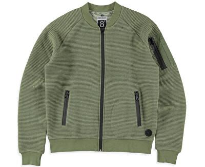 Férfi zöld pulóver Ivan Army 4382619