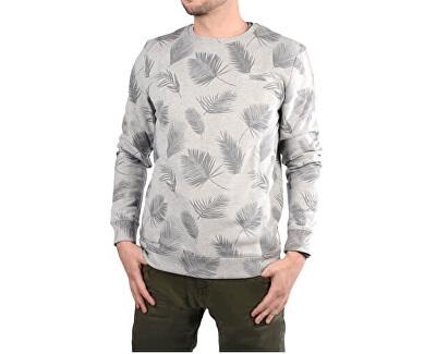 Tricoul bărbătesc de culoare gri cu imprimare Paro Grey are 4158753