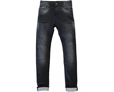 Cars Jeans Pentru bărbați pantaloni negri Ancona Black Folosit 7,267,841.34