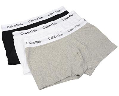 Calvin Klein Boxerky Low Rise Trunk U2664G-998 Black/White/Grey Heather