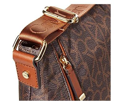 Damen crossbody Handtasche CK New Belfast Messenger Brown