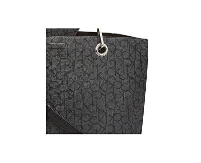 Damen Handtasche CK Reversib schwarz / Silver