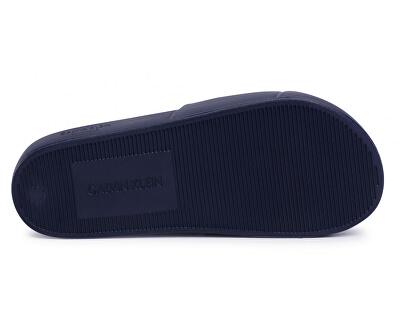 Férfi cipők egyik öntőforma Slide KM0KM00498 -CBK Black Iris