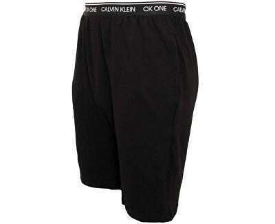 Férfi pizsama rövidnadrág CK One Sleep Short NM1906E-001 Black