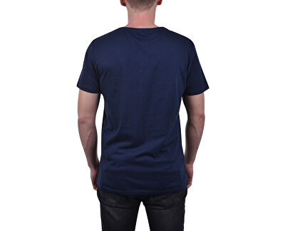 Pánské triko Relaxed Crew Tee KM0KM00329-445 Blue Shadow