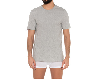 Sada pánských trik S/S Crew Neck 2pc Grey Heather