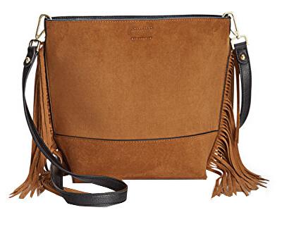 Calvin Klein Dámská hnědá crossbody kabelka Reversible Fringe Crossbody Doprava  ZDARMA  91f322025b4