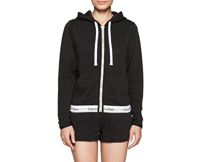 Calvin Klein Dámská mikina Sweatshirt QS5667E-001 Black