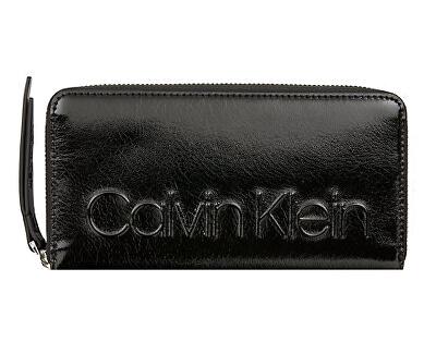 Női pénztárca Embossed Logo Large Zip Wallet