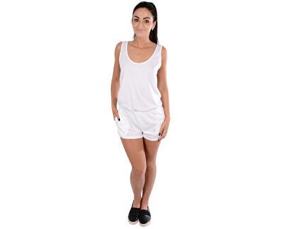 Calvin Klein Dámský overal Scoop Back Romper KW0KW00385 White