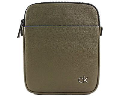 Pánská taška Ck Direct Flat Crossover Olive
