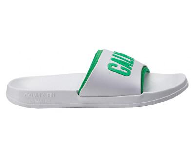 Pánské pantofle Slide KM0KM00376-100 White